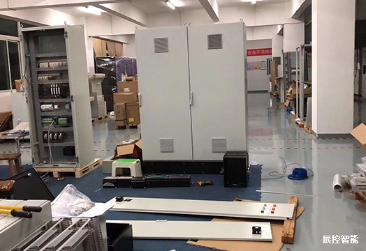 辰控智能PLC在基板镀锌的应用